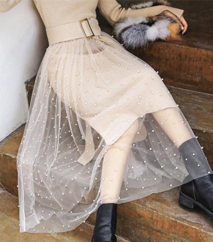 阿莱贝琳品牌折扣女装唯美冬日装怎么穿