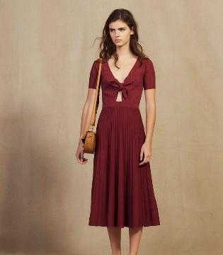 SANDRO新款服装上市 连衣裙搭配这双鞋让你变时尚达人