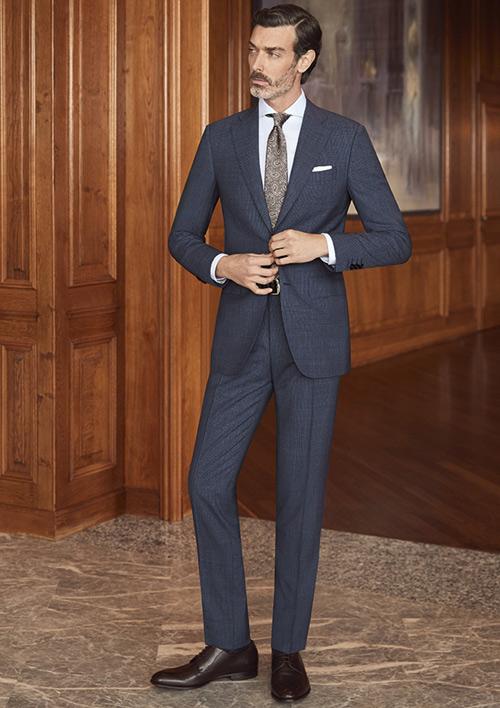 高级定制打造完美成熟男士 彰显现代绅士男士