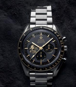 """欧米茄奢侈品牌:""""阿波罗11号""""50周年纪念限量腕表"""
