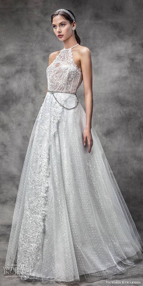 美好即可开始 Victoria Kyriakides Spring婚纱系列