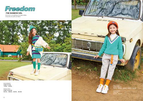 卡儿菲特秋冬新款火热上线 时尚穿搭要从小开始
