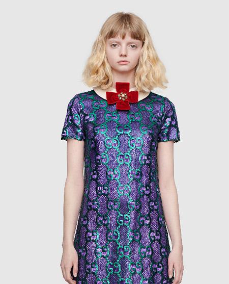 欣赏秋季新时尚连体裤 Gucci极具独特的服装