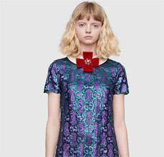 欣赏秋季新时尚连体裤 Gucci极具独特的色人阁五月
