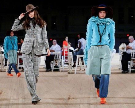 纽约时装周尾声  三大品牌压轴谢幕
