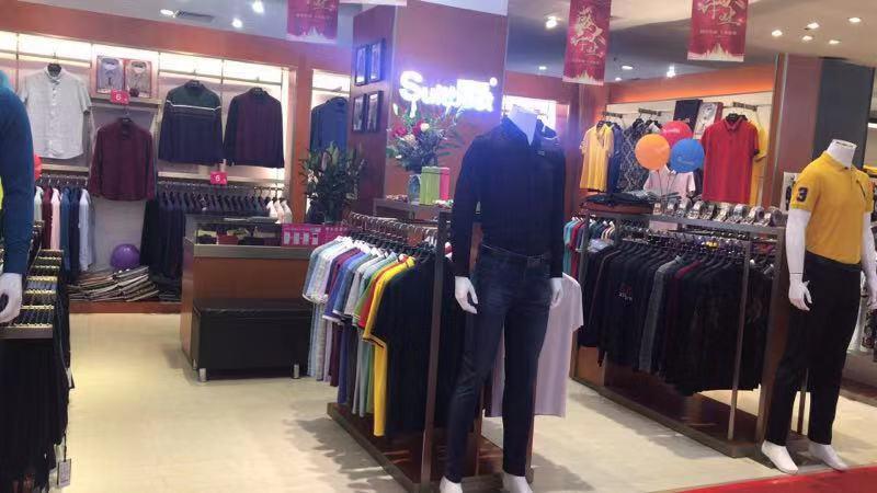 秀百斯男装 时代城购物中心盛大开业