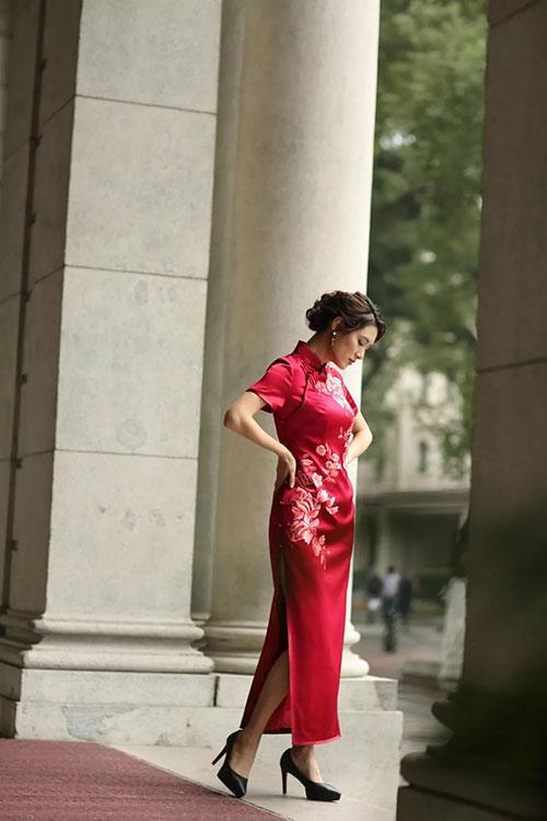 """""""秋上新""""新娘红装,珍贵时刻最美的你"""
