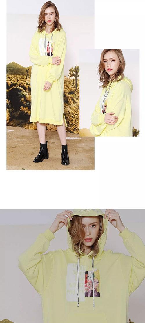 莎斯莱思时尚女装,有了卫衣裙,你就是最时髦的女孩!