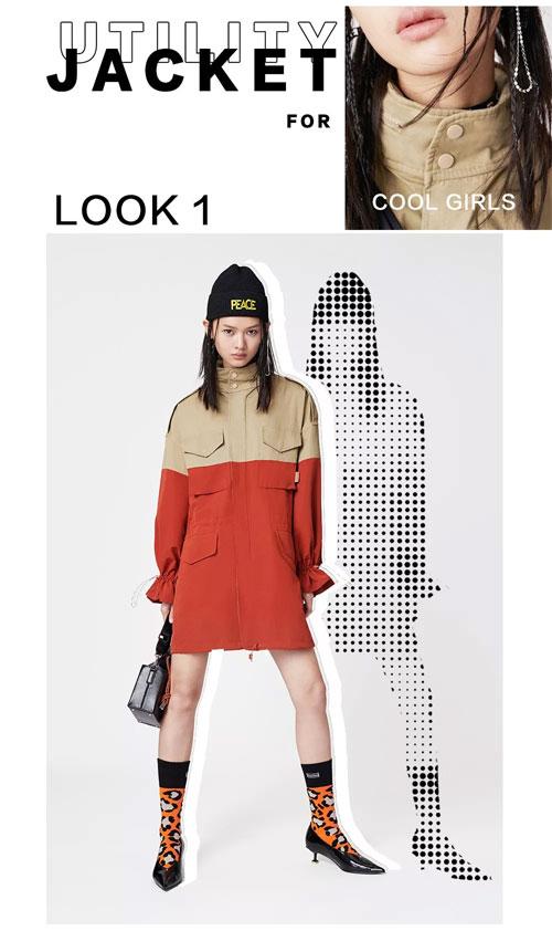 IN穿搭   没有什么时髦 是一件外套无法解决的事情。
