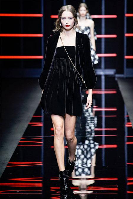 Emporio Armani秋冬款时装 我的时尚我做主