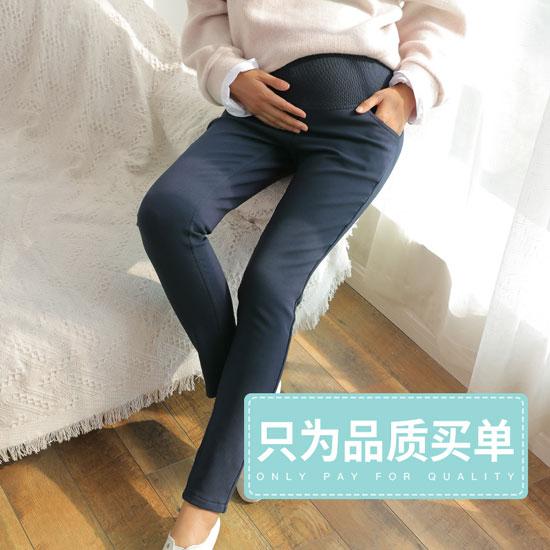 保暖还未出生的宝宝 选择一款婧麒品牌的打底裤