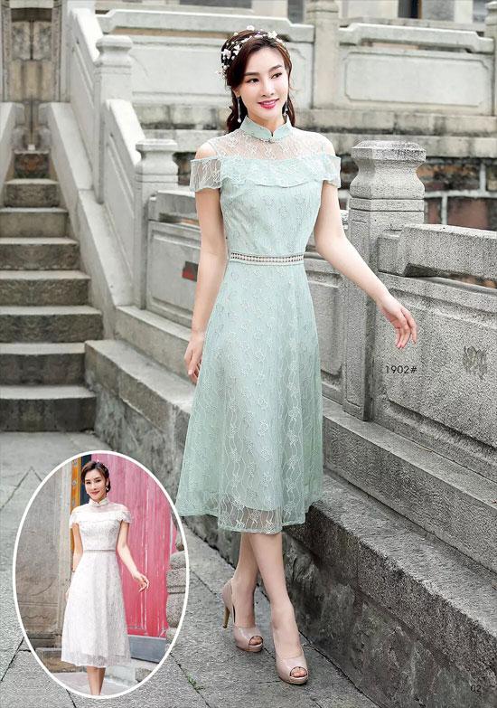 极具国风味道的旗袍 成为你的气质辅助