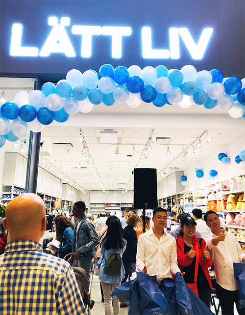 美国首店开业,LATTLIV生活无忧踏足北美大零售市场