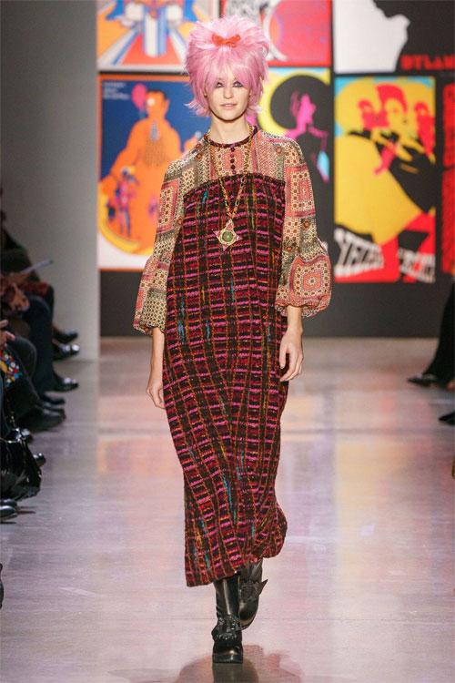 Anna Sui2019秋冬时装秀 为你演绎不一样的风采