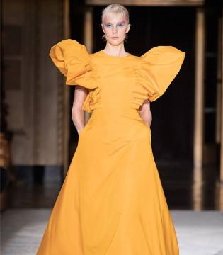 这个秋冬流行什么? 请看Christian Siriano时尚女装