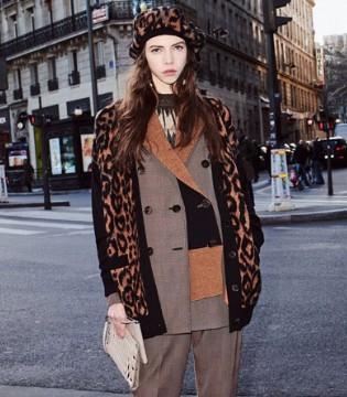 Sonia Rykiel为你解锁豹纹服饰的时尚穿搭之法!