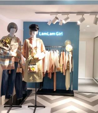 特大喜讯 陕西榆林国贸LamLam Girl店盛大开业了