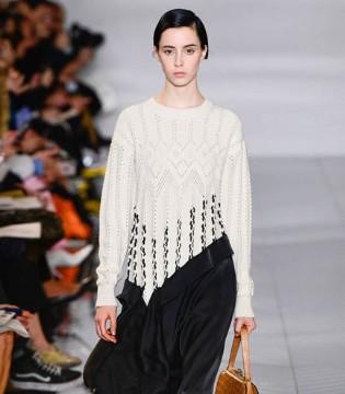 Loewe时尚女装 经典色系搭配造就不一样的经典美
