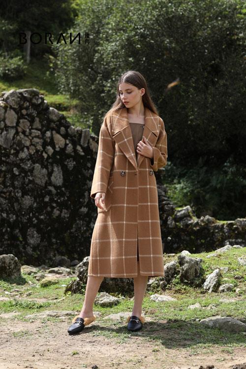 播冉秋冬新品:韩版时尚风衣是都市女性的标配