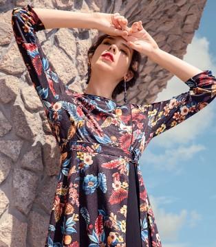 秀蓓儿女装新品 与秋季唯美的大自然景象融为一体