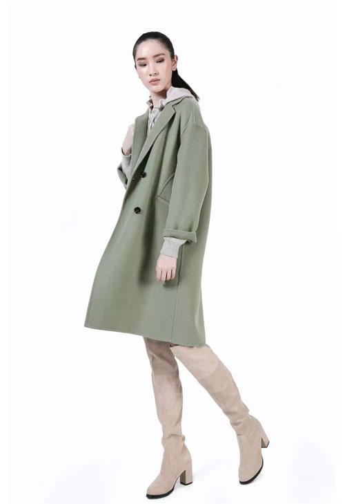 法路易娜falouina 果绿色的秋冬亮丽之梦