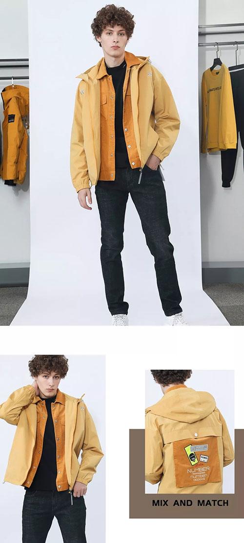 莎斯莱思男装不稳定的穿搭才时髦 不设限的活计才可以
