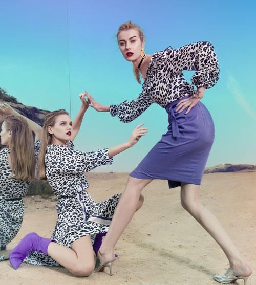 EXUN时尚女装秋季新品上市 优雅自然