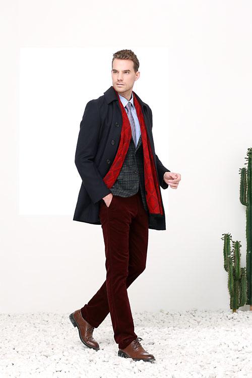 富绅秋冬装上新 让你穿出时尚穿出帅气!