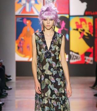 Anna Sui秋冬时装 复古色彩演绎出不一样的绚丽奢华
