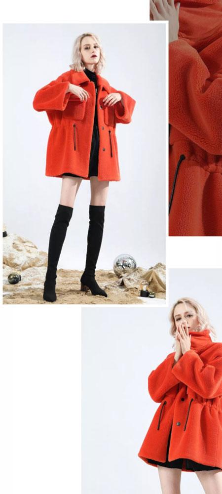 Saslax女装 想要暖暖的拥抱?穿超好看的毛茸茸外套!
