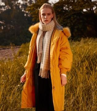 木丝语新款高档羽绒服 让你时髦一个秋冬!