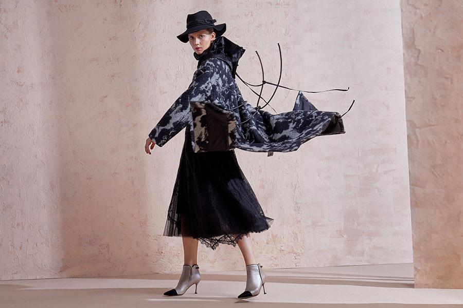 SUJIANG 素匠女装19冬季灵感之旅 Ⅰ 观自在.享万相