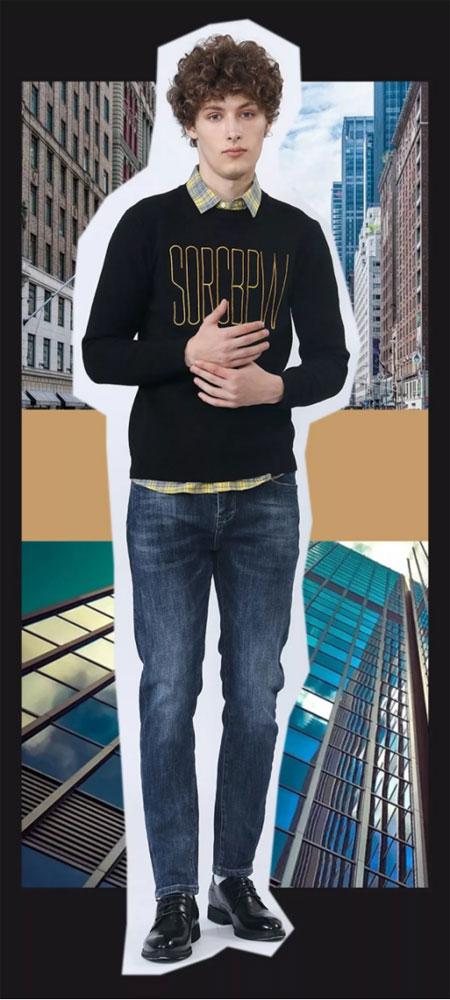广州莎斯莱思时尚男装 打造出意想不到的时髦感!