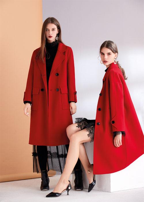 艾丽哲女装新款毛呢大衣 尽显淑女范儿的优雅气质