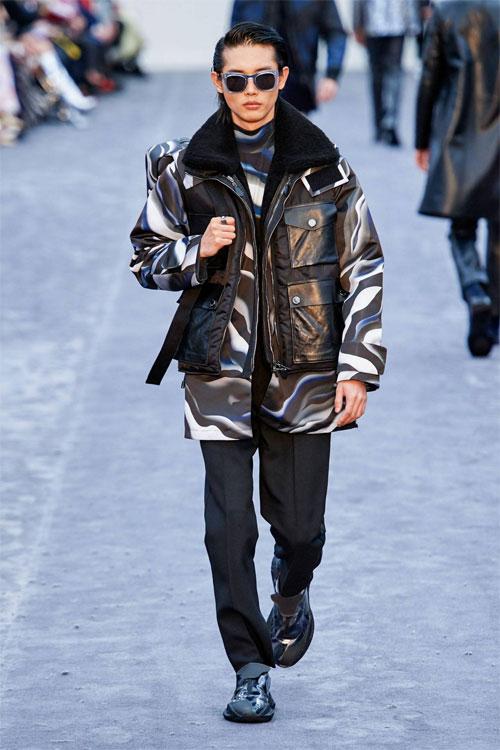 Roberto Cavalli男装系列 正式典雅与随意嬉皮相碰撞