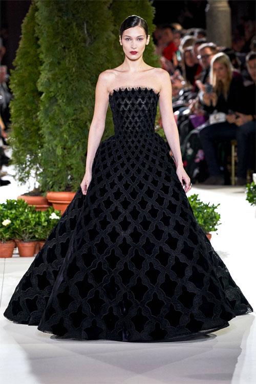 Oscar de La Renta晚礼服 高贵典雅 气质感满满