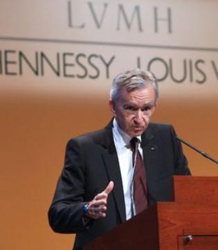 LV老板-伯纳德・阿诺特或成世界最富有的男人?