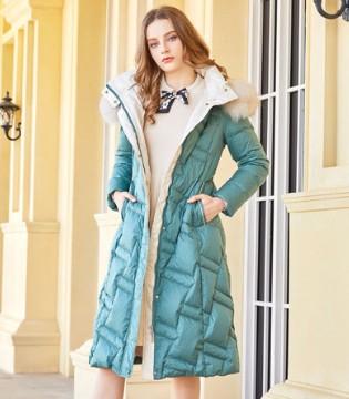 金蝶茜妮女装上新 为你带来今年最火的羽绒服