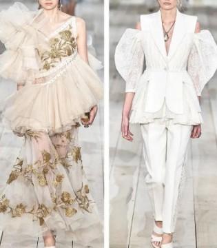 Alexander McQueen2020成衣系列 不一样的蕾丝时尚