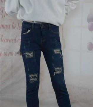 美酷思新款牛仔裤 修身瘦腿 时尚感十足!