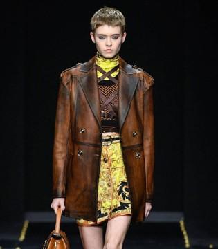 Versace时尚女装  彰显着颓废而迷人的艺术气息