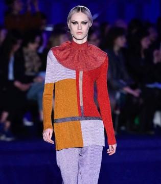 Missoni时装 充满想象的色彩搭配 满满的艺术感