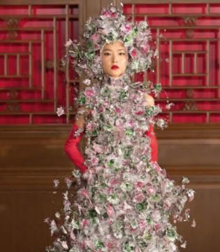华伦天奴北京高定大秀 一场中西合璧的文化