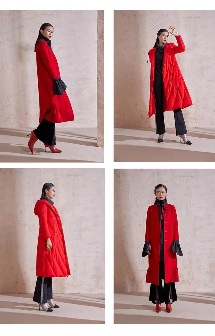 SU JIANG 素匠女装 新年特别系列  心动不过中国红