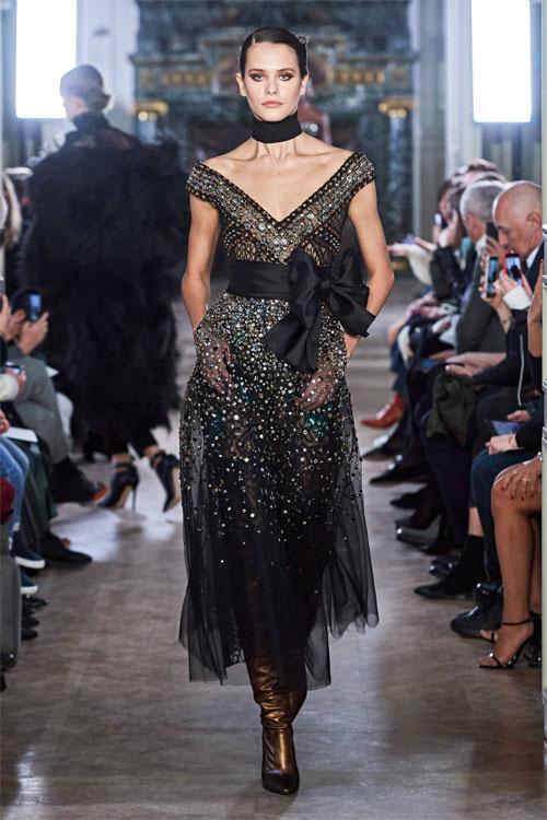 Elie Saab晚礼服 精美奢华 让你化身精灵国度公主