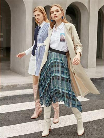 约会穿搭有哪些 阿莱贝琳女装将你的优雅展现出来