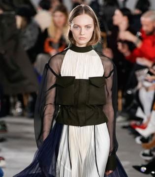 Sacai冬装 设计大胆新奇 独特的造型感