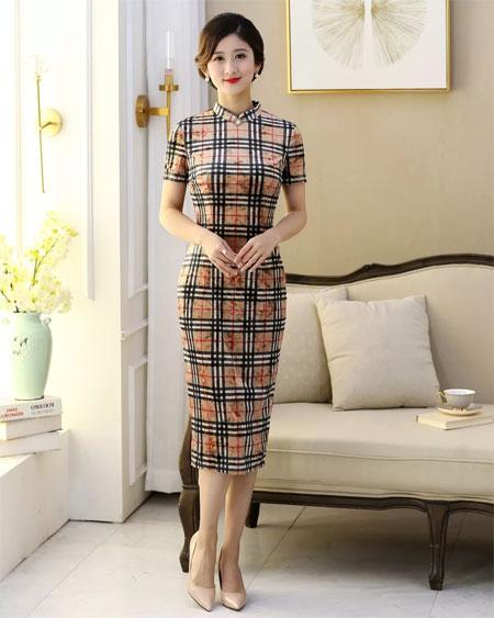 过年聚会 你需要一件高级旗袍 实在太太太太美了!