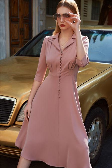 例格女装新春新品 专属于春天的气息伴随着你