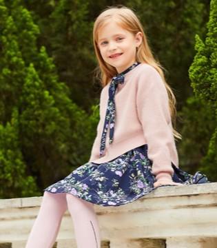 卡儿菲特童装上新 让你一秒变身精致的小公主